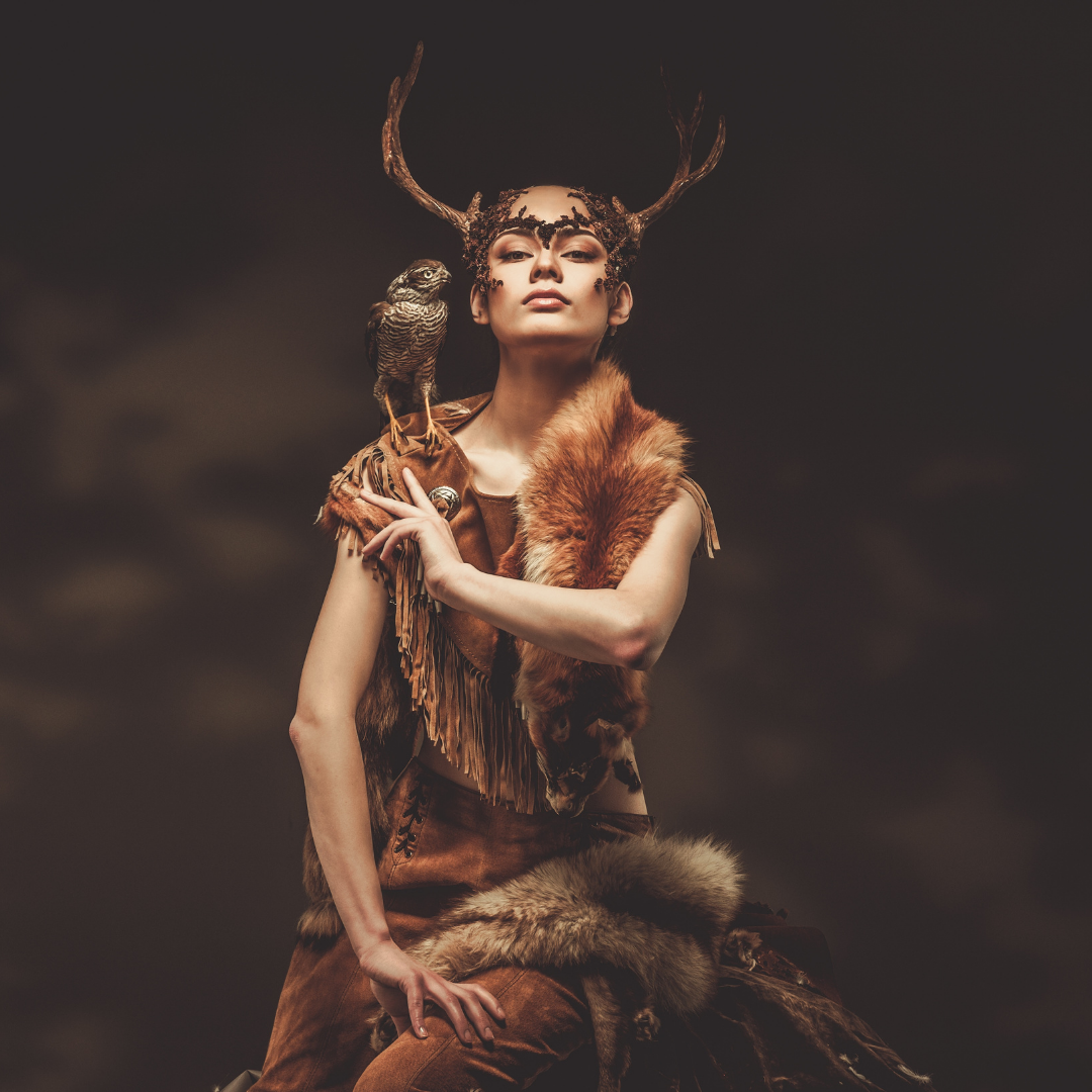 priestess goddess warrior - temple journey